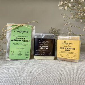 Pack emballé trio pour peau acnéique